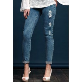Slim jeans ReDam S61 42 modrá