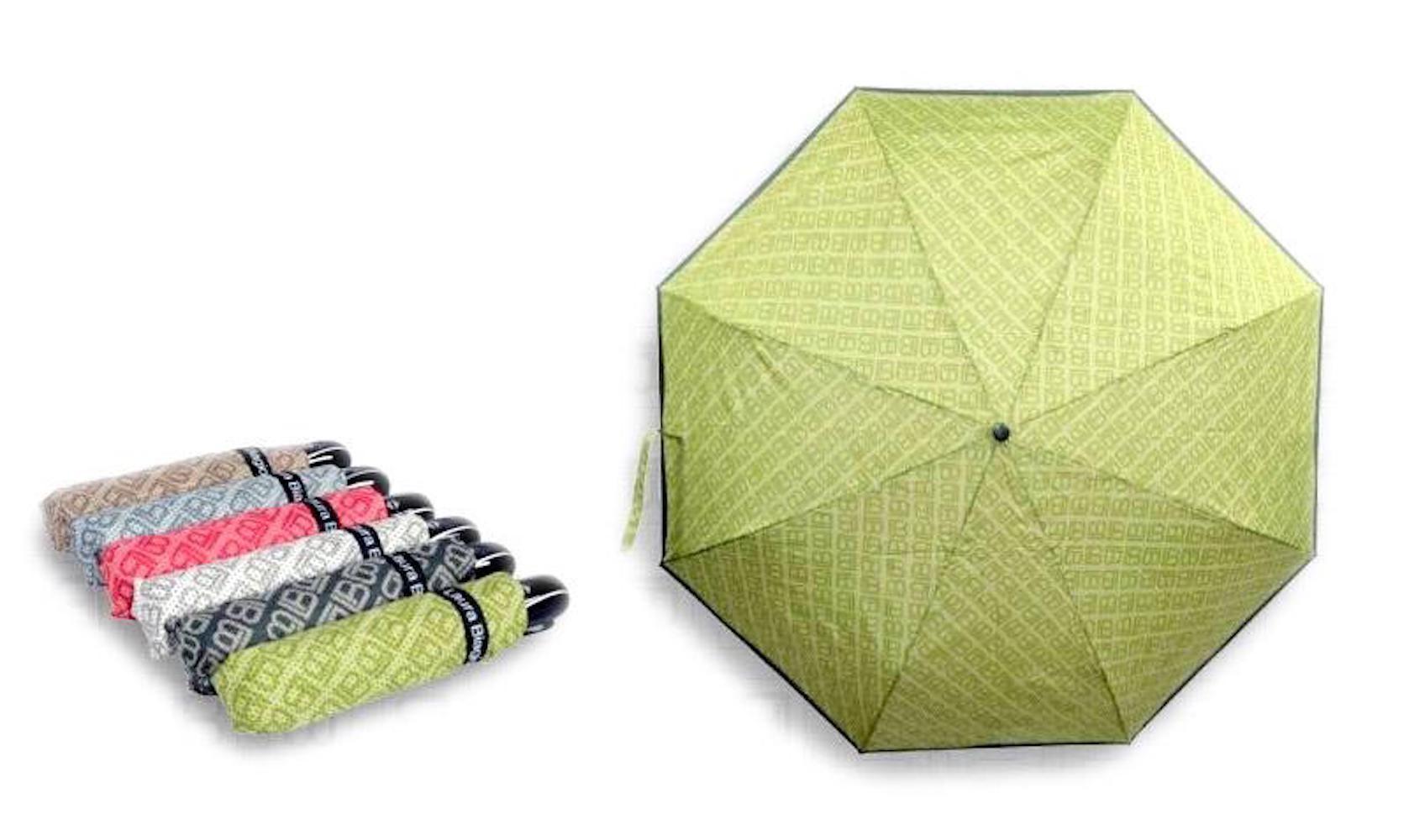 Deštník Laura Biagiotti 3 hnědá