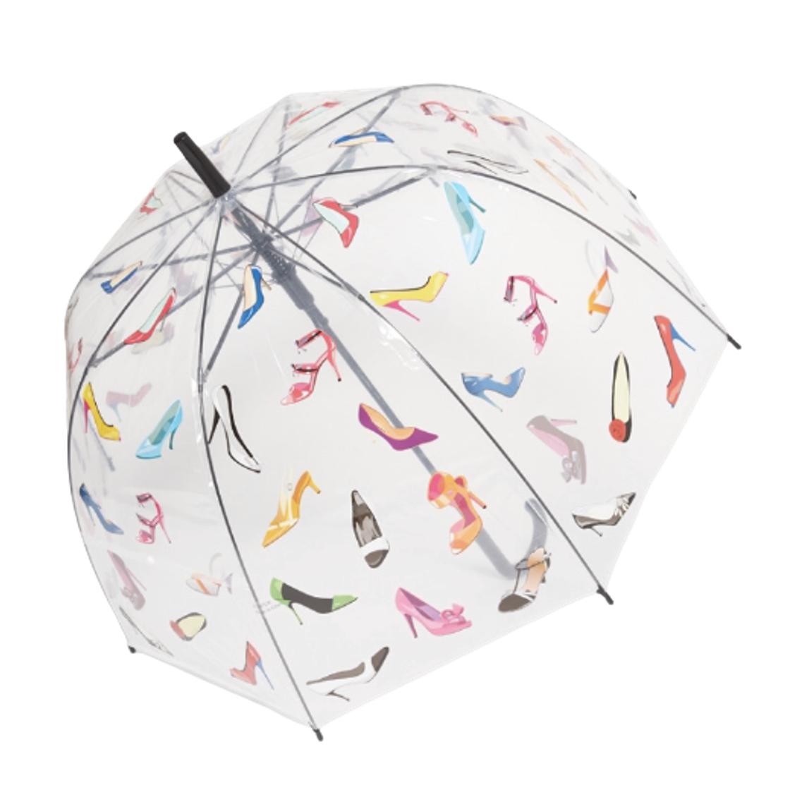 Průhledný deštník fashion