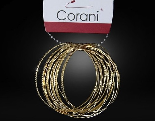 Zlatý náramek Corani 38