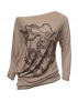 Béžová svetr T16