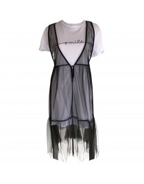 Černé šaty W16PE17