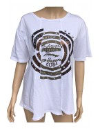 Bílé tričko W16PE08