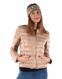 Béžová zimní bunda Timiami
