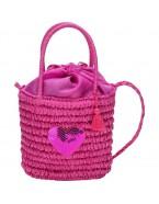 Růžová kabelka Camomilla