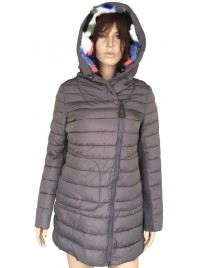 Šedá zimní bunda Timiami