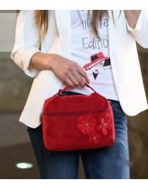 Červená kabelka Poupèe 01