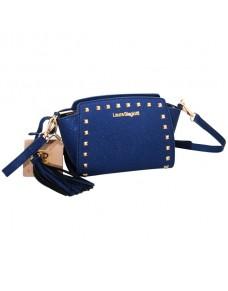 Modrá kabelka Laura Biagiotti