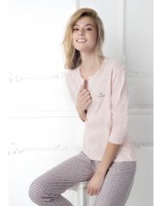 Růžové pyžamo Coveri
