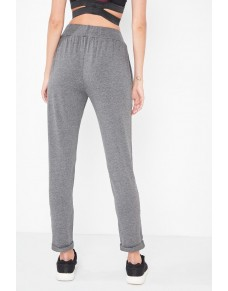 Gray tracksuit trousers IRL