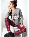 Kostkované pyžamo Infiore