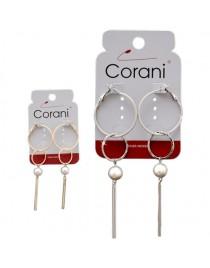 Náušnice s perlou Corani