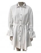 Bílá košile srdíčko
