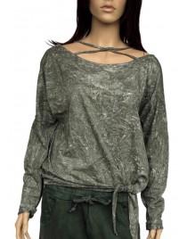 Green female t-shirt Wiya