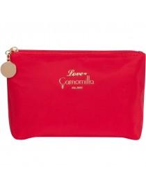 Červená kosmetická taška