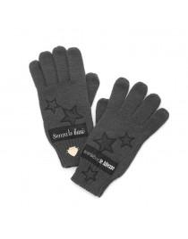 Šedé rukavice Le Pandorine