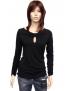 Fialové tričko T22